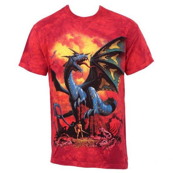 koszulka THE MOUNTAIN - BLUE DRAGON