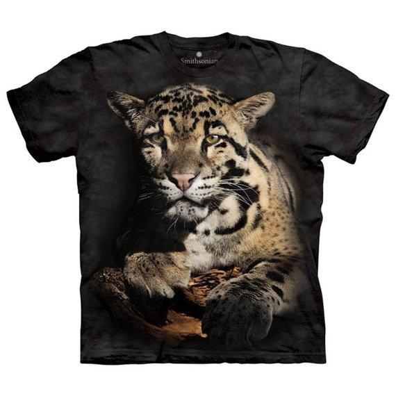 koszulka THE MOUNTAIN - CLOUDED LEOPARD, barwiona