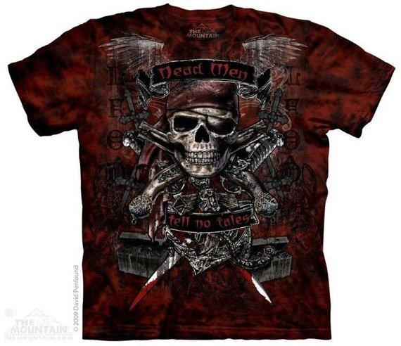 koszulka THE MOUNTAIN - DEAD MEN, barwiona