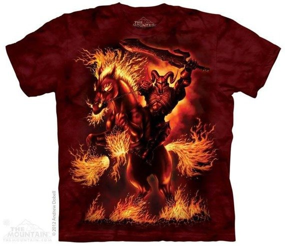 koszulka THE MOUNTAIN - GOD OF WAR, barwiona