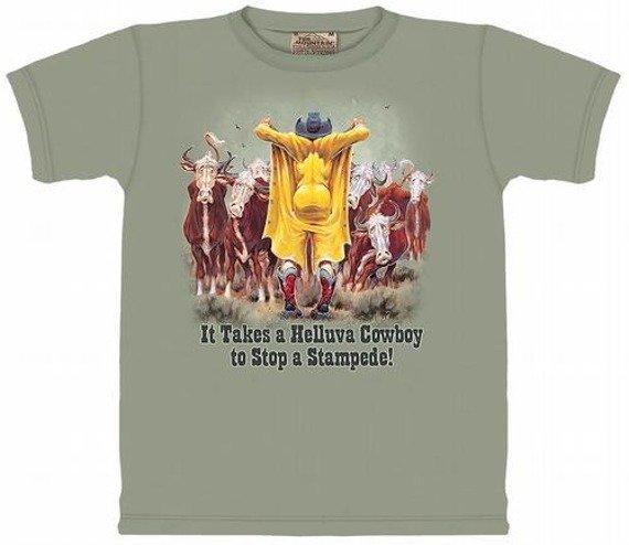 koszulka THE MOUNTAIN - HELLUVA COWBOY