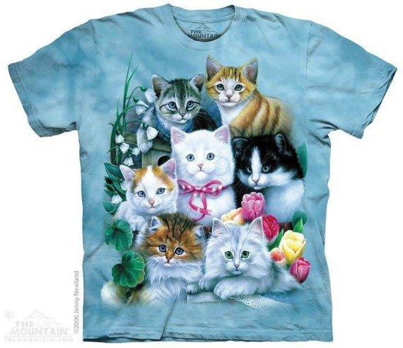 koszulka THE MOUNTAIN - KITTENS, barwiona
