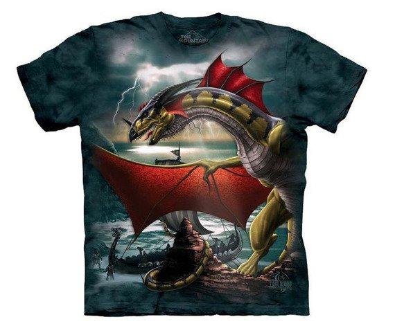 koszulka THE MOUNTAIN - THE SENTINEL, barwiona