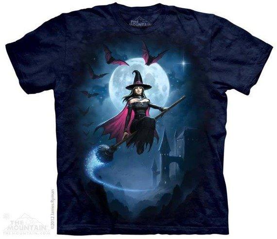 koszulka THE MOUNTAIN - WITCHS FLIGHT, barwiona