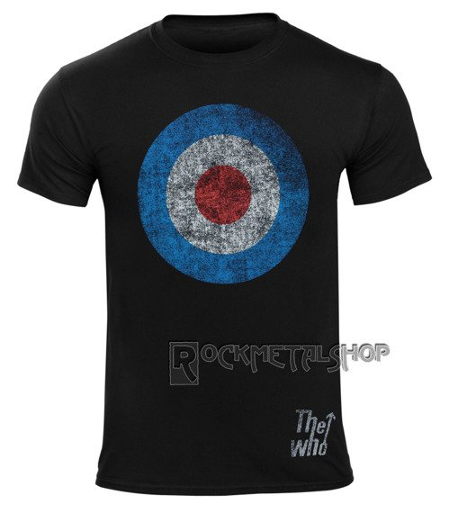 koszulka THE WHO - DISTRESSED TARGET