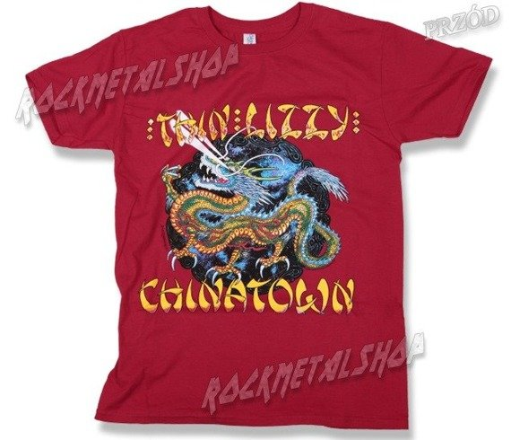 koszulka THIN LIZZY - CHINATOWN