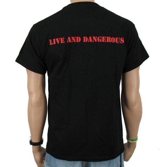 koszulka THIN LIZZY - LIVE AND DANGEROUS
