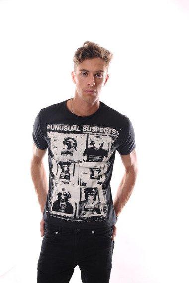 koszulka U.SUSPECT czarna