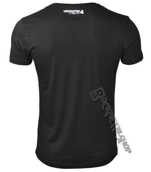 koszulka UNCHARTED - PRO DEUS QVOD LICENTICA