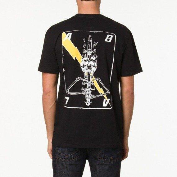 koszulka VANS - AV78 SKULLCARD BLACK