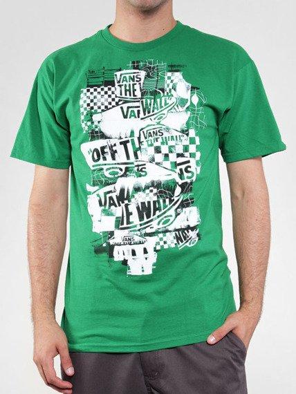 koszulka VANS - OTW CHECKER BLASTE (KELLY/WHITE)