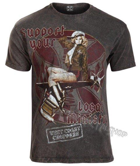 koszulka WEST COAST CHOPPERS - AIR MINISTRY vintage