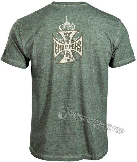 koszulka WEST COAST CHOPPERS - BRIDGE khaki