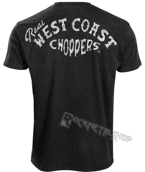 koszulka WEST COAST CHOPPERS - REAL WCC vintage black