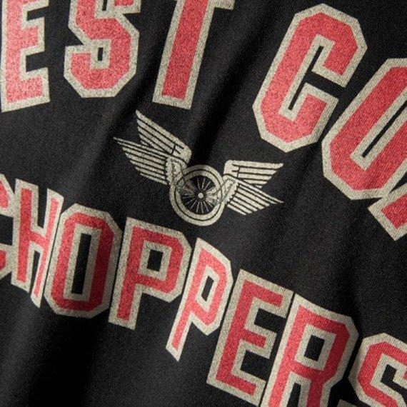 koszulka WEST COAST CHOPPERS - WINGS czarna