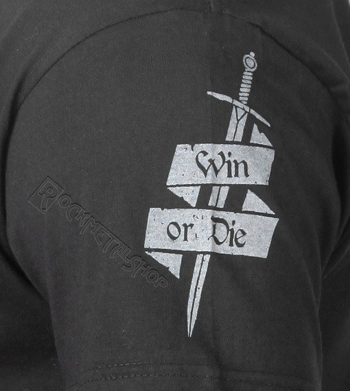 koszulka WIN OR DIE czarna