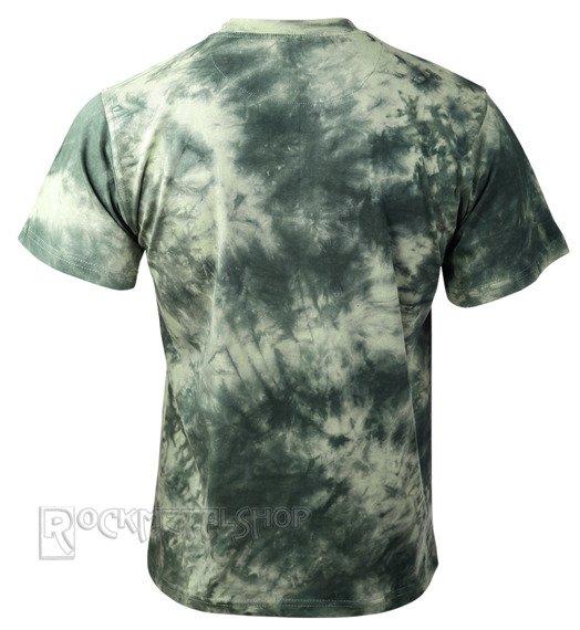 koszulka barwiona RUNNING BEAR / GREEN