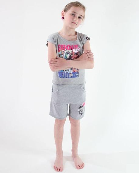koszulka dziecięca MONSTER HIGH - GHOUL KIDS RULE! dla dziewczynki