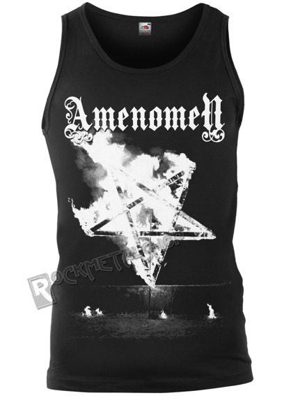 koszulka na ramiączkach AMENOMEN - PENTAGRAM BURN (OMEN067KR)
