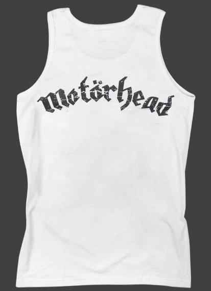koszulka na ramiączkach MOTORHEAD - BORN TO LOSE LIVE TO WIN biała