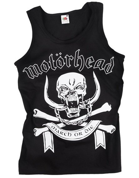 koszulka na ramiączkach MOTORHEAD - MARCH OR DIE