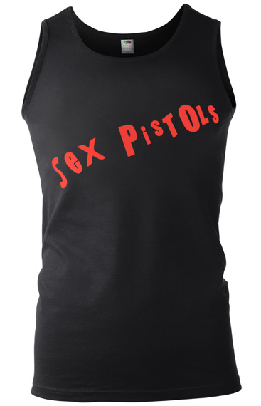 koszulka na ramiączkach SEX PISTOLS - RED LOGO