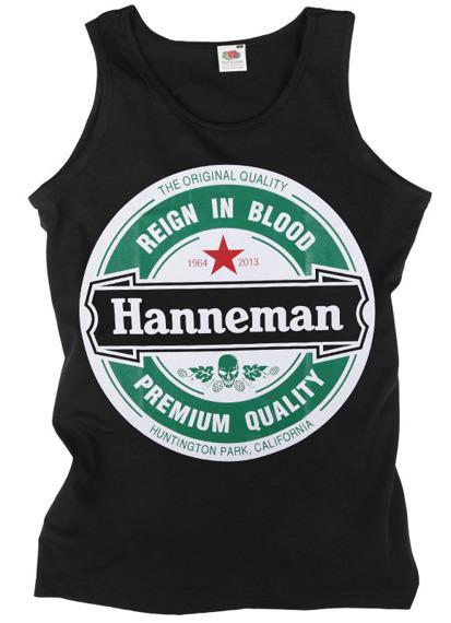 koszulka na ramiączkach SLAYER - HANNEMAN