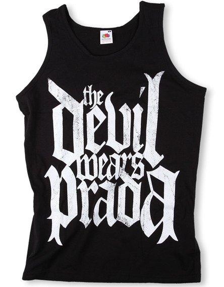 koszulka na ramiączkach THE DEVIL WEARS PRADA