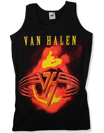 koszulka na ramiączkach VAN HALEN