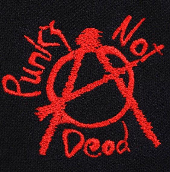 koszulka polo PUNKS NOT DEAD