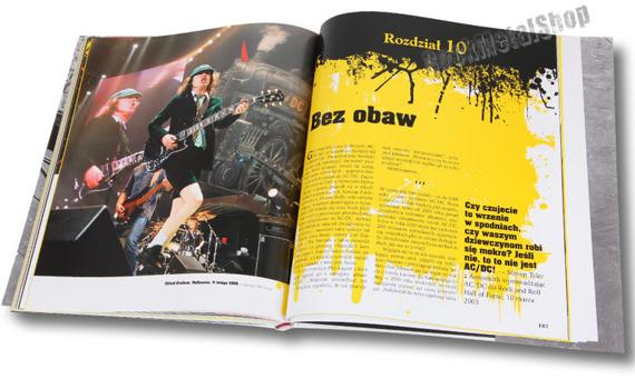 książka AC/DC: ROCKNROLL POD WYSOKIM NAPIĘCIEM - Ilustrowana Historia, autor: Sutcliffe Phil