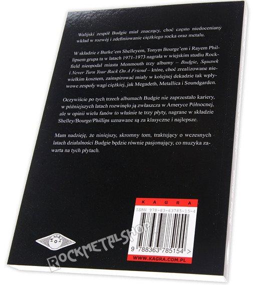 książka BUDGIE. PIERWSZE TRZY ALBUMY. autor: Chris Pike