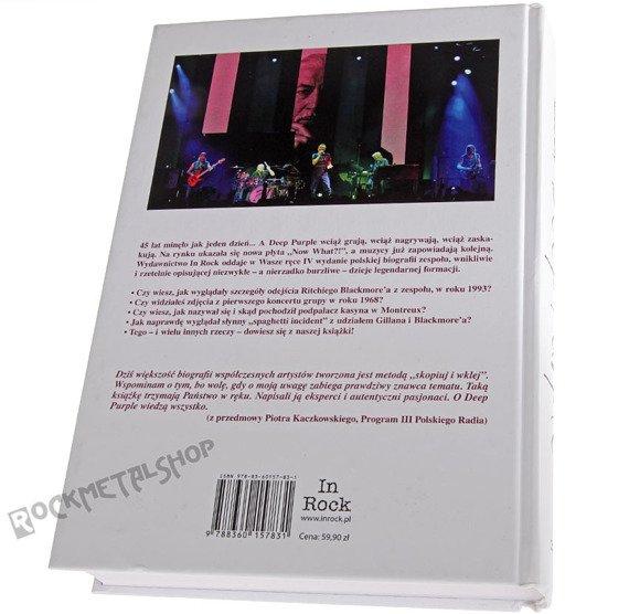 książka DEEP PURPLE autorzy: T. Szmajter, R. Bury (oprawa twarda)