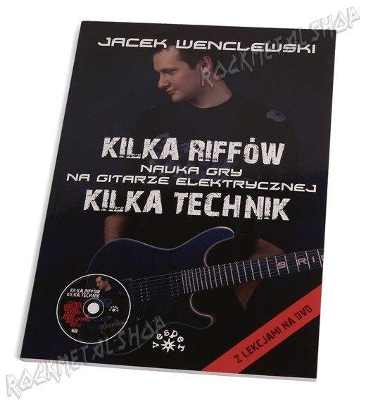 książka KILKA RIFFÓW KILKA TECHNIK autor: Jacek Wenclewski
