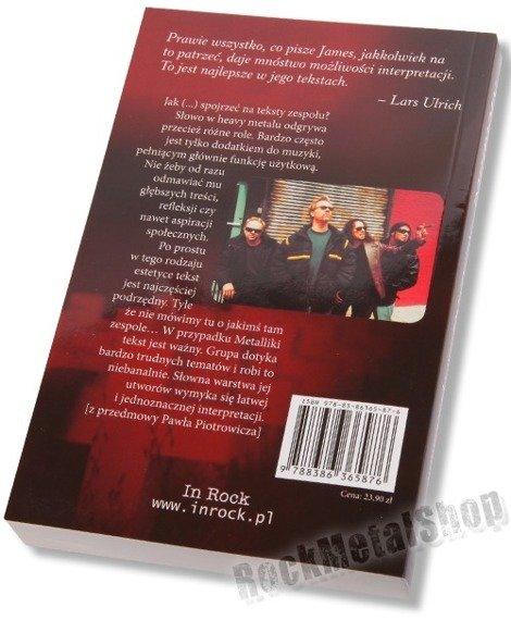 książka METALLICA - ANTOLOGIA TEKSTÓW I PRZEKŁADÓW miękka oprawa