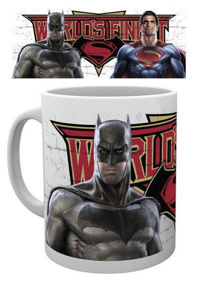 kubek BATMAN VS SUPERMAN - WORLD'S FINEST