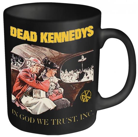 kubek DEAD KENNEDYS - IN GOD WE TRUST