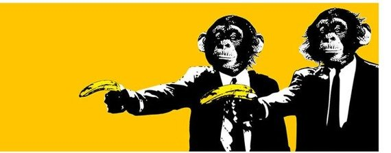 kubek MONKEYS - BANANAS MONKEYS