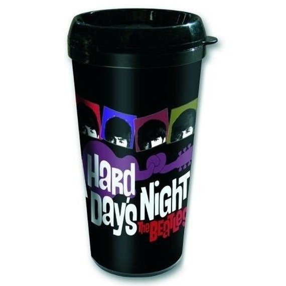 kubek podróżny THE BEATLES - A HARD DAYS NIGHT