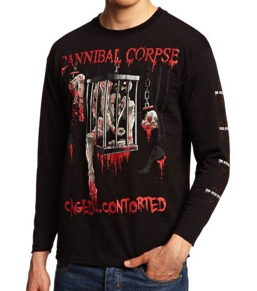 longsleeve CANNIBAL CORPSE - CAGED CONTORTED