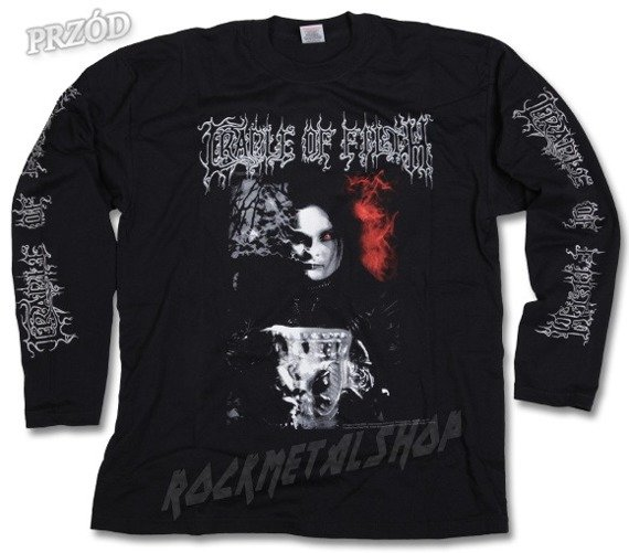 longsleeve  CRADLE OF FILTH - BLACK  MY HEART (95032300C)