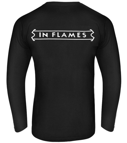 longsleeve IN FLAMES - DESTINATION CHAOS