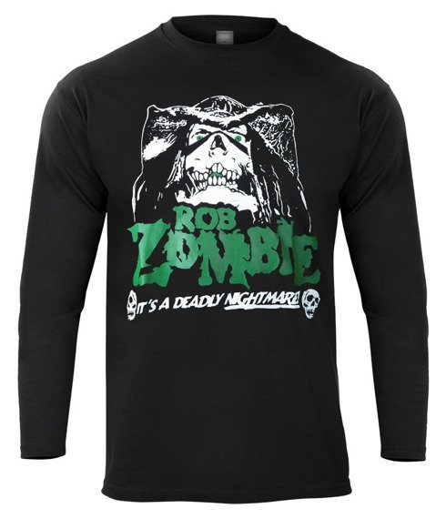 longsleeve ROB ZOMBIE - IT'S A DEADLY NIGHTMARE!