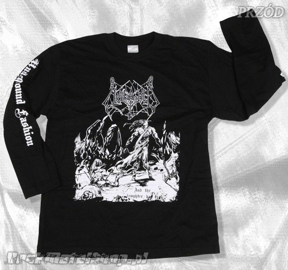 longsleeve UNLEASHED - AND THE LAUGHTER HAS DIED