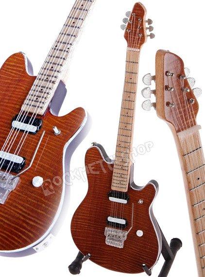 miniaturka gitary EDDIE VAN HALEN: Ernie Ball MUSIC MAN