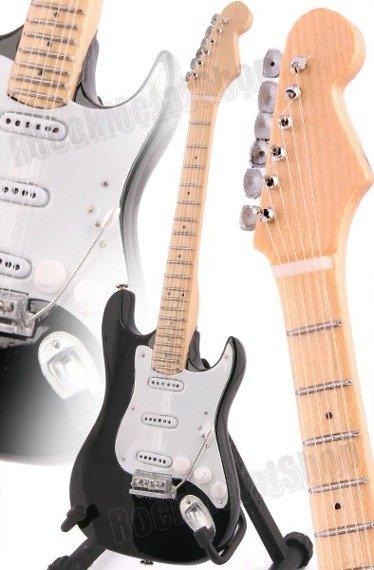 "miniaturka gitary ERIC CLAPTON: ""BLACKIE"" STRAT STYLE (MP46EC)"