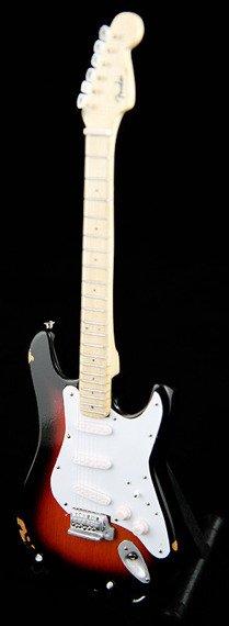 "miniaturka gitary ERIC CLAPTON - ""BROWNIE"" STRAT"
