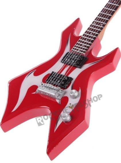miniaturka gitary KERRY KING - KERRY KING: BC RICH WARLOCK WARTRIBE