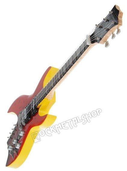 miniaturka gitary METALLICA - JAMES HETFIELD: B.C. RICH BROWN CROSS