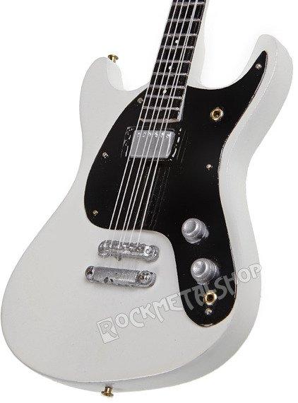 miniaturka gitary RAMONES: JOHNNY RAMONE - MUSTANG WHITE